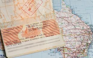 Австралийская виза.