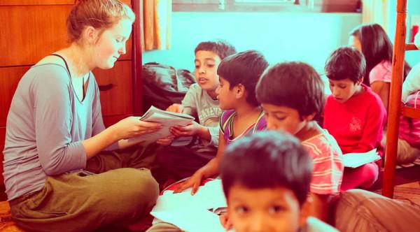 волонтёрство в Непале
