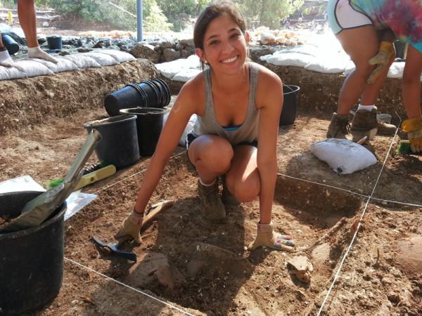 Волонтёры-археологи.
