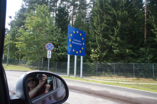 Поездка в Калининград на машине