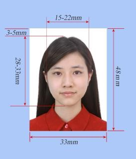Размеры фото на китайскую визу.