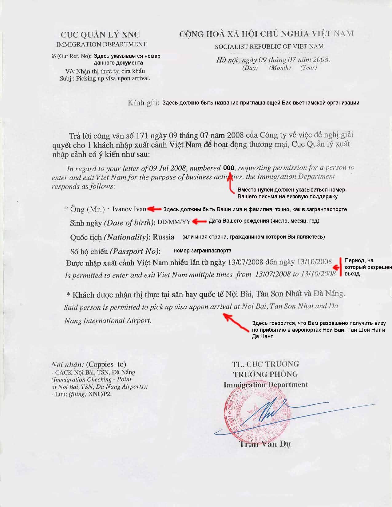 Текст приглашения в испанию от владельца недвижимости образец