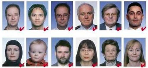 На фото шенген не видны плечи