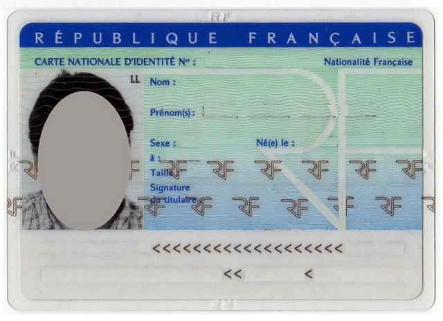 Карта гражданина Франции