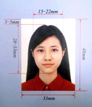 Образец фото для документов