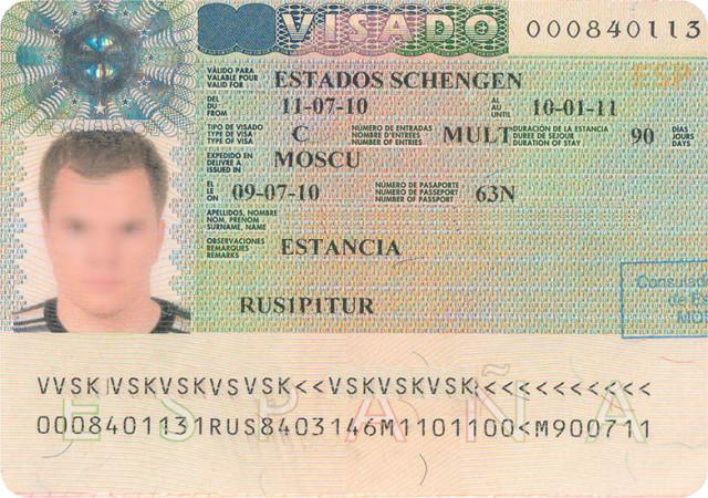 Шенгенская мультивиза.