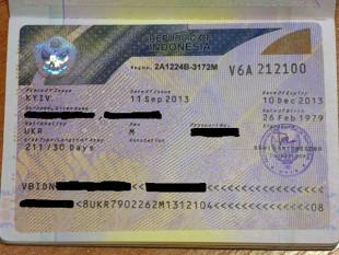 Социальная виза в Республику Индонезия