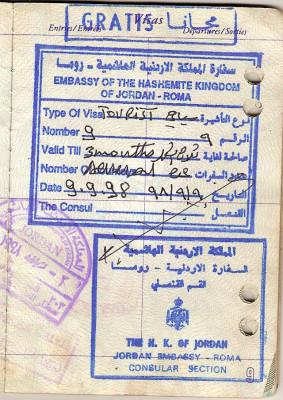 Иорданская виза