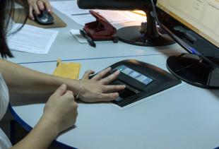 Взятие отпечатков пальцев для загранпаспорта