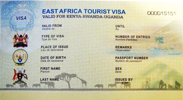 Восточно-африканское визовое разрешение