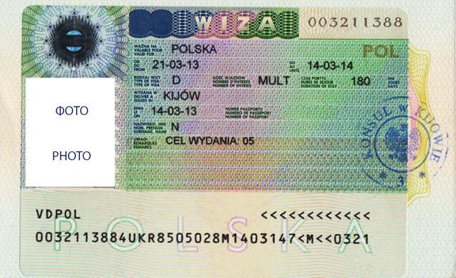 Визовое разрешения на работу в Польшу