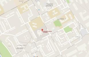 Посольство Литвы в Минске на карте