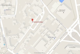 Посольство Канады в Киеве на карте