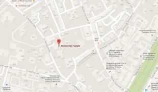 Посольство Греции в Москве на карте