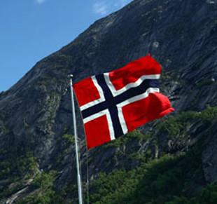 Флаг Королевства Норвегии