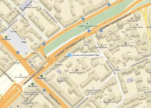 Посольство Перу в Москве на карте
