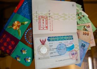 Таиландская виза и деньги