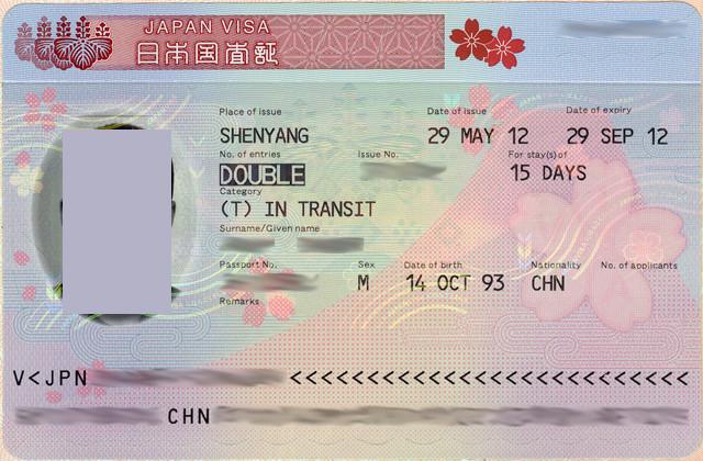 Визовое разрешение на транзит