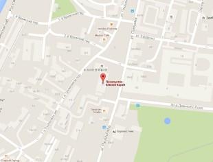 Посольство Кореи в Москве на карте