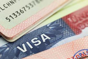 Бланк визового документа в паспорте