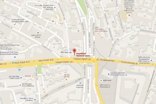 Индийский Визовый центр в Москве на карте