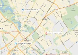 Посольство Польши в Минске на карте