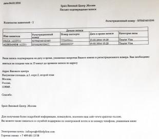 список документов и порядок подачи
