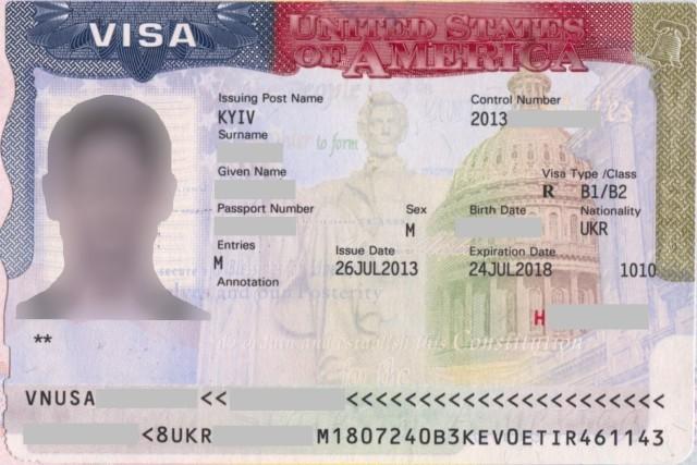 Визовое разрешение в Америку