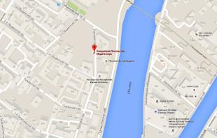 Посольство Мадагаскара в Москве на карте