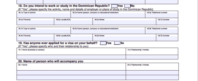 Часть анкеты с данными о планах в республике