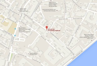 Посольство Хорватии в Москве на карте