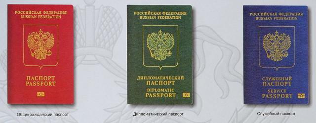 Типы загранпаспортов России