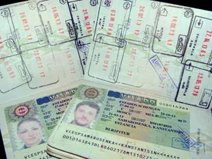 Бланки шенгенских визовых разрешений