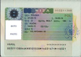 Визовое разрешение на работу