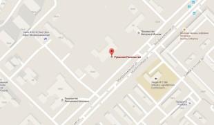 Посольство Румынии в Москве на карте