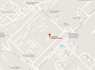 Посольство Сербии в Москве на карте