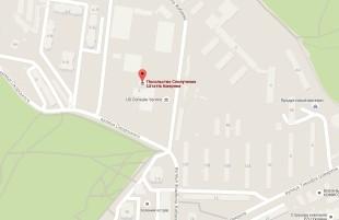 Посольство Америки в Киеве на карте