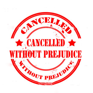 Образец штампа cancelled without prejudice