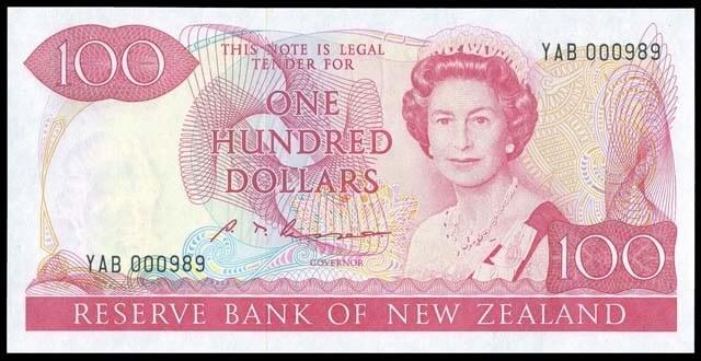 Новозеландская валюта