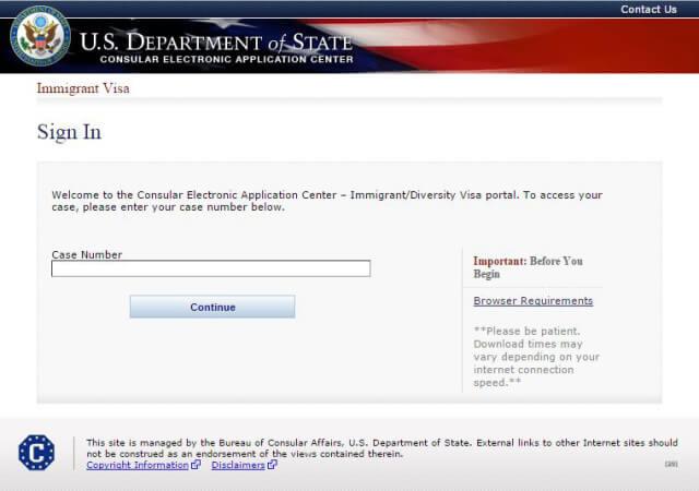 Сайт для заполнения визовой анкеты