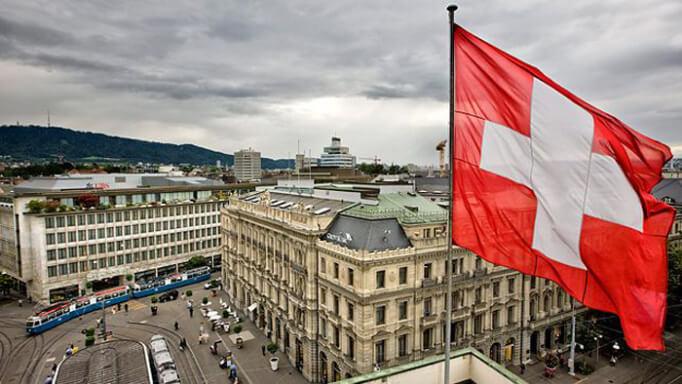 Флаг Швейцврии