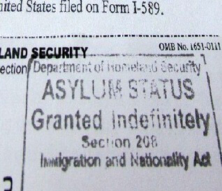 Штамп Politicum status на документах