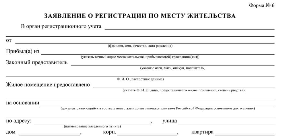 Как зарегестрировать знакомого в квартире россии