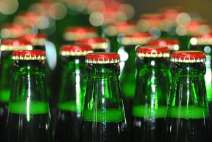 Бутылки спиртного