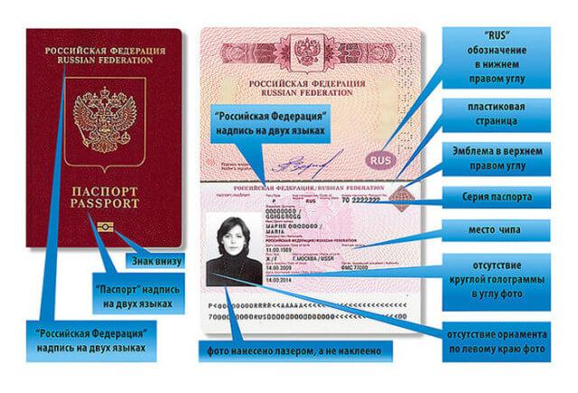 Детали нового заграничного паспорта