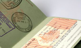 Паспорт с визами