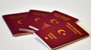 Загранпаспорта Турции