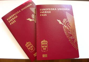 Паспорт гражданина Швеции