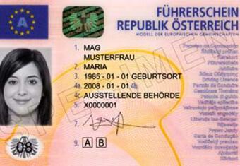 Австрийское удостоверение личности