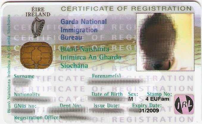 GNIB Card